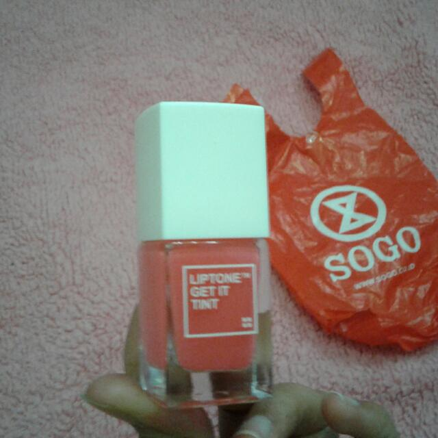 Lip tint TONY MOLY Original from counter