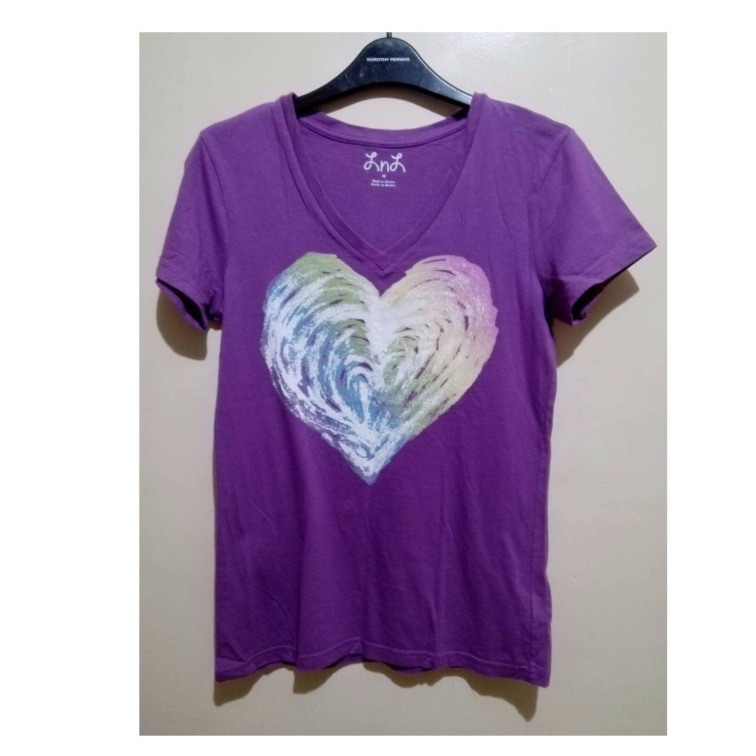 (Repriced) LnL Purple V-Neck