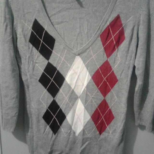 Long Sleeve Grey H&M