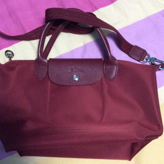 LONGCHAMP NEO in champagne Red