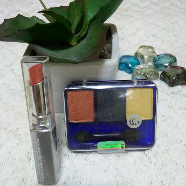 Lots Of 2 Cover Girl Eyeshadow Enhancer & Lipstick #6