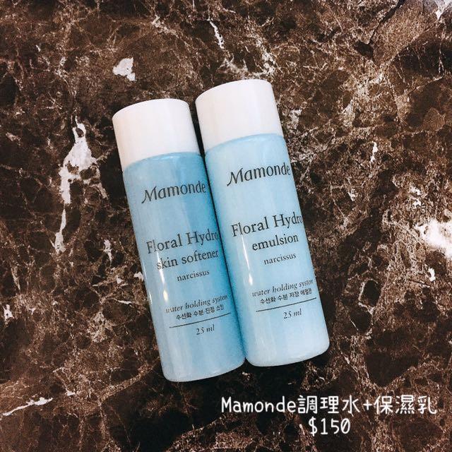 Mamonde 調理水+保濕乳