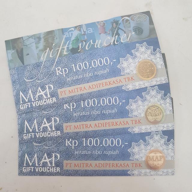 M.A.P Gift Voucher 100.000
