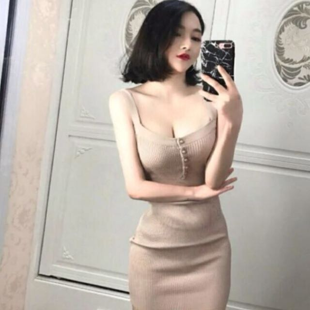 Mini Dress Cream Import