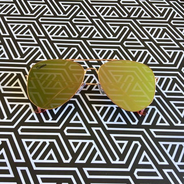 Mirrored Sunglasses Eyewear