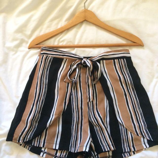 Mooloola Revival Striped Shorts