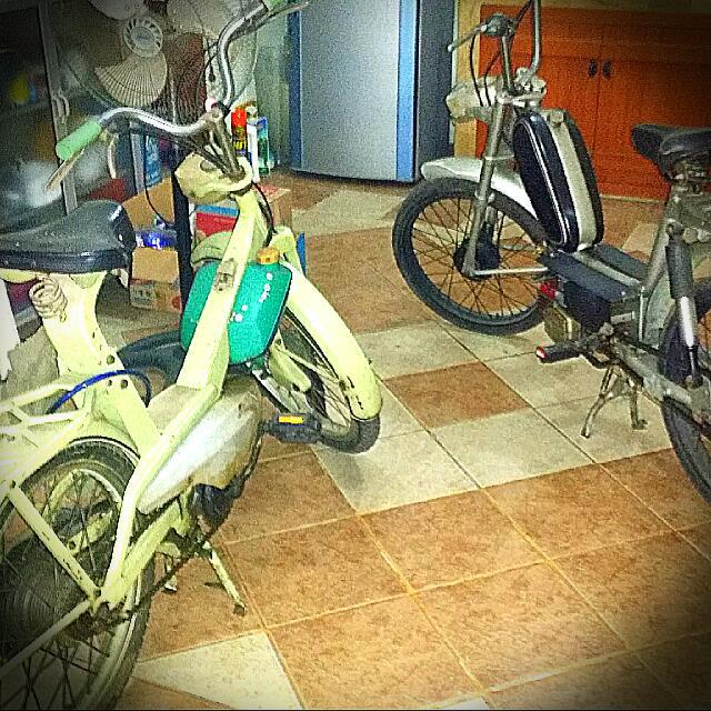 Moped Lambretta Debra Matic Dan Sachs hercules...Thn 67 Dan 80