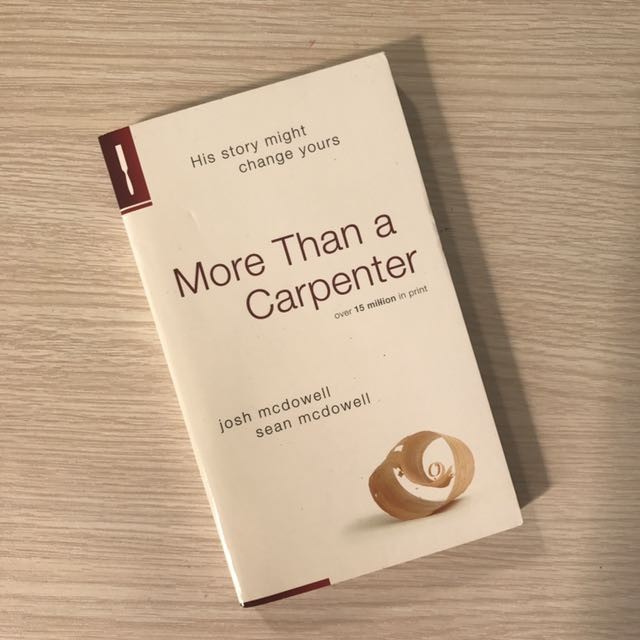 MORE THAN A CARPENTER by McDOWELL