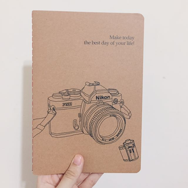Nikon相機筆記本