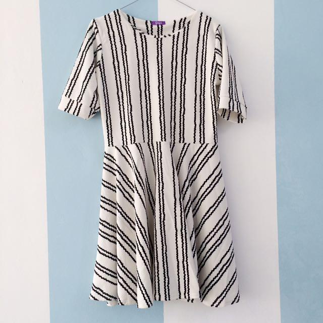 GRATIS ONGKIR - Pattern Dress