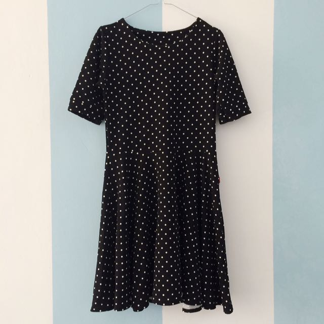 GRATIS ONGKIR - Polkadot Dress