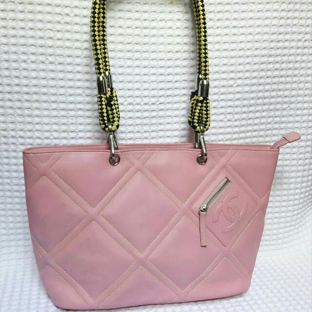 PRELOVED CHANEL Bag Pink From Japan