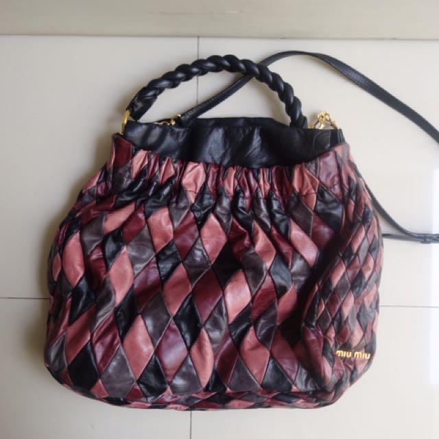 Preloved Miu Miu Harlequin Bag