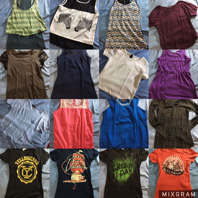 Preloved Tops & Dress! 50-200 Pesos Only!!