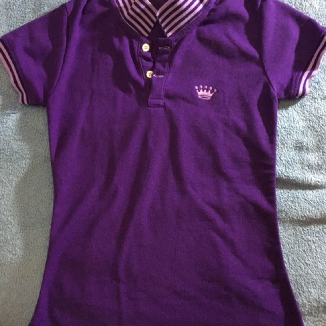 Purple Crown Polo Shirt