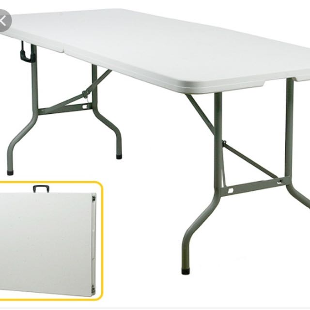 rent foldable party table furniture tables chairs on carousell