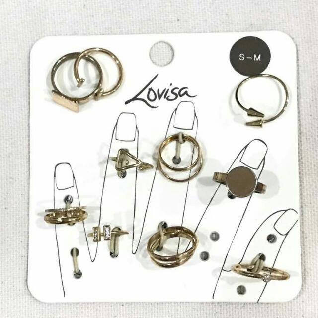 Rings from Lovisa