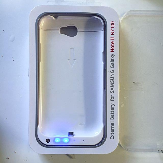 Samsung Galaxy Note 2 External Battery Case