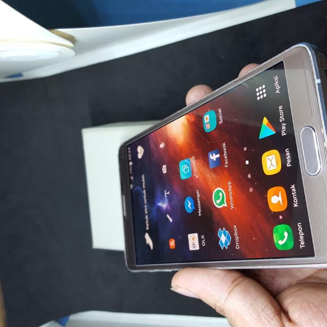 Samsung Galaxy Note 4 N910H Resmi SEIN Fullset Original Elektronik Telepon Seluler Di Carousell