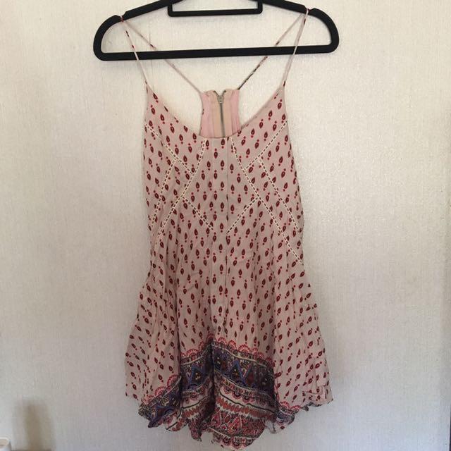 Size 6 Gypsy Dress