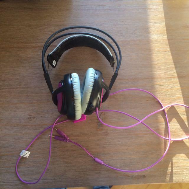 Steelseries Siberia 200 Headset Sakura Purple