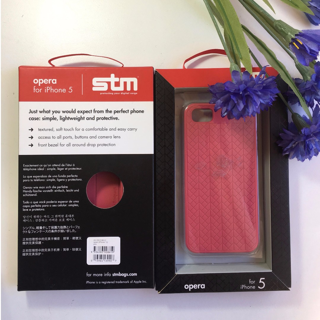 STM iPhone 5/5S Pink Case