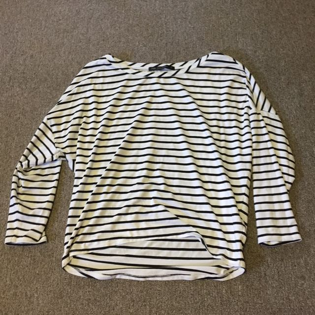 Stripe Top From Boutique