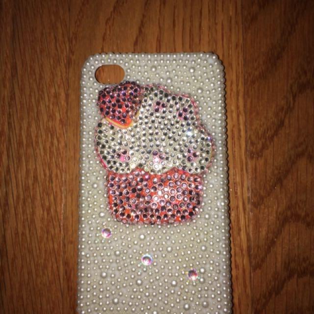 Swarovski Crystal iPhone 4/4s Phone Case