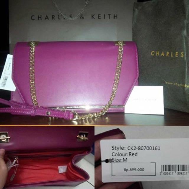 Tas Charles&keith Original