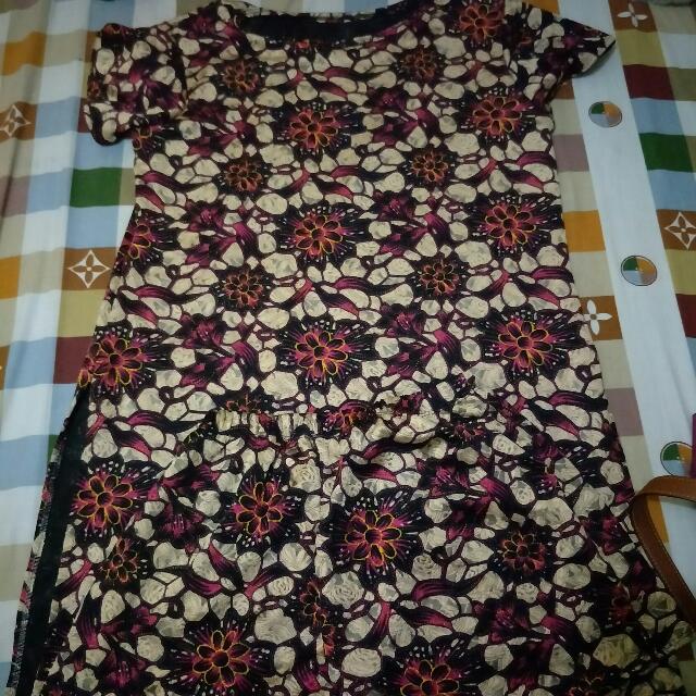 terno blouse and shorts