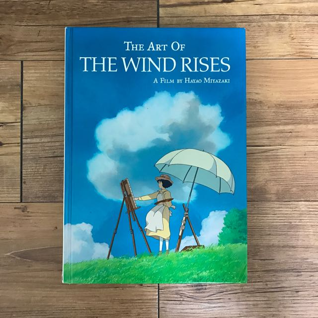 The Art Of The Wind Rises Book