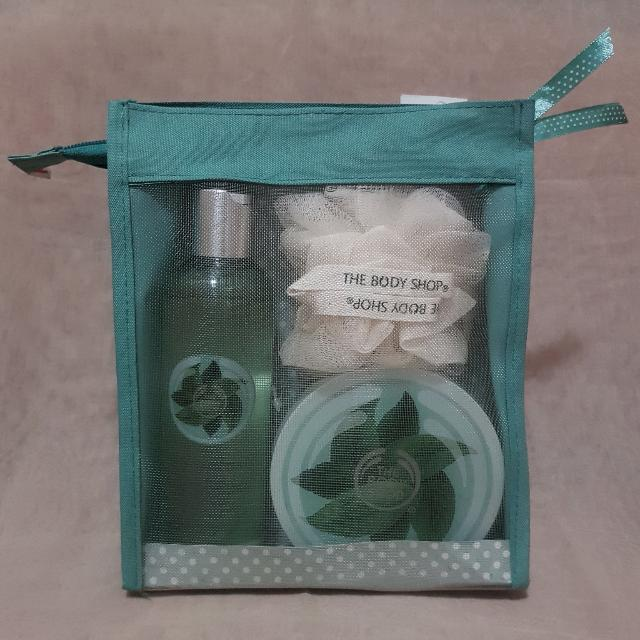 The Body Shop Fuji Greentea Shower Pack