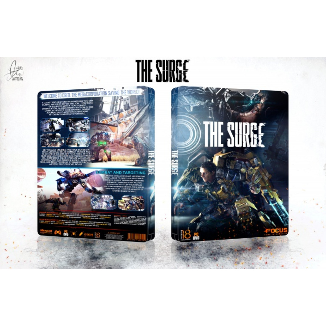 The Surge Offline with DVD - PC Games 40dd9130f52