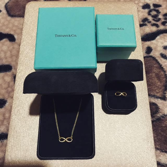 Tiffany & Co Infinity Necklace & Ring.