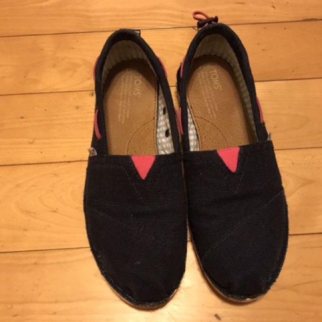 TOMS 休閒鞋(深藍)