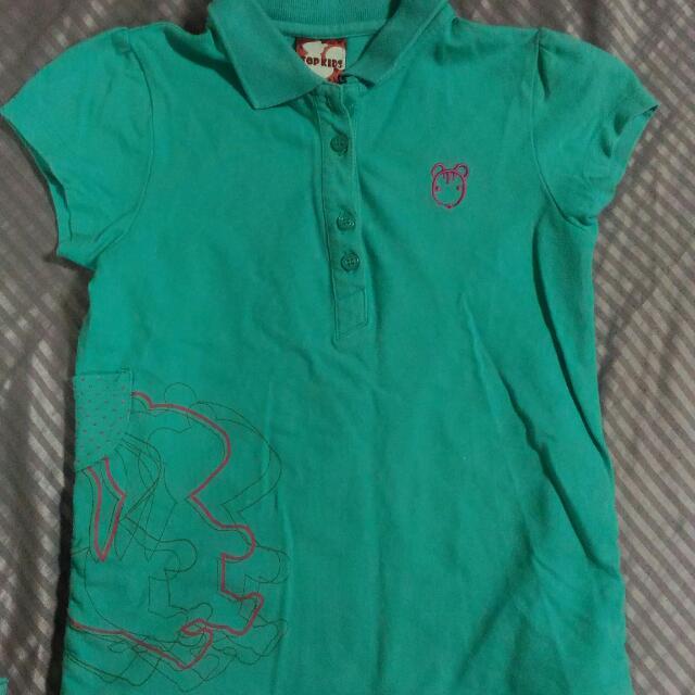 Top Kids 女童 T恤 Polo衫