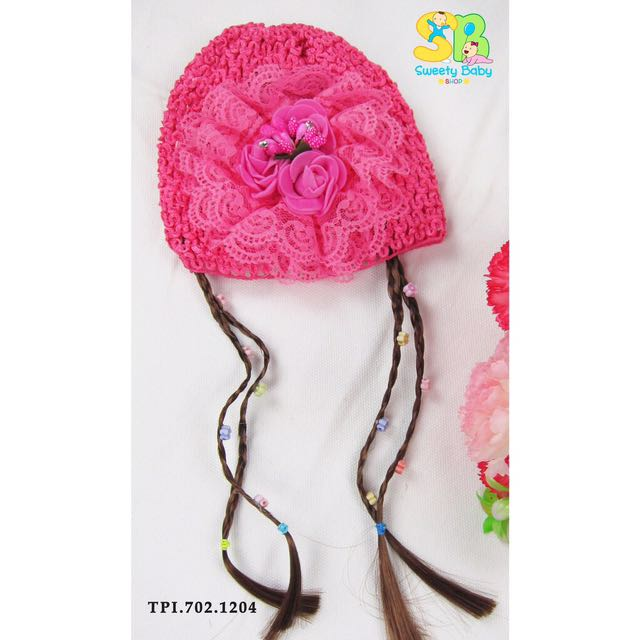 Topi Kupluk Bayi Atau Anak Perempuan  Lucu