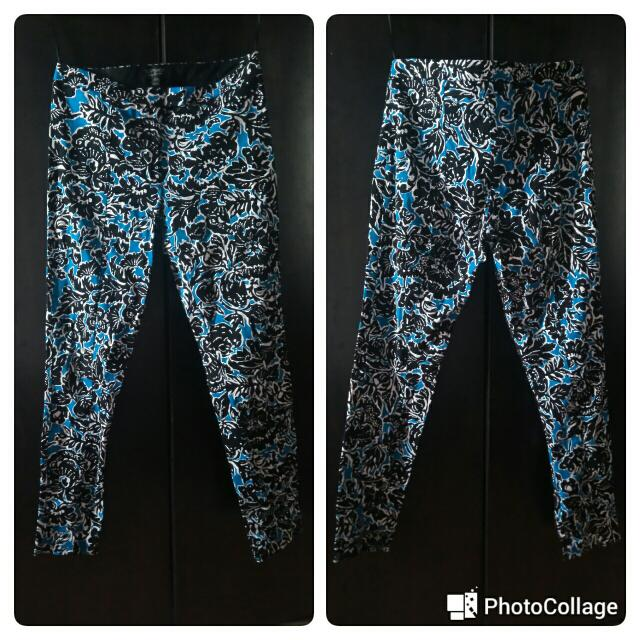 Topshop Floral Printed Trousers/pants