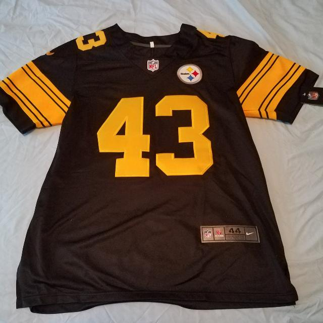 more photos a3e12 46f6f Troy Polamalu Color Rush Jersey Size L, Sports on Carousell