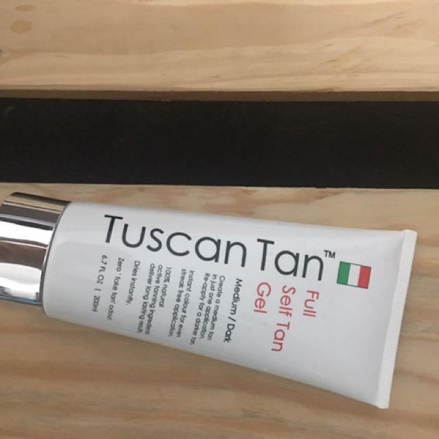 Tuscan Tan Self Tan Gel