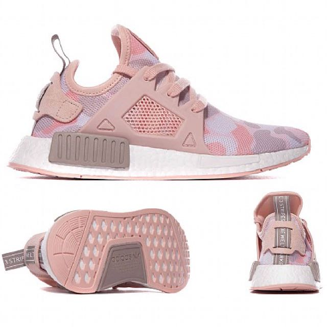 331f6b8ba9b73 UK6 adidas NMD XR1 Duck camo pink, Women's Fashion, Shoes on Carousell