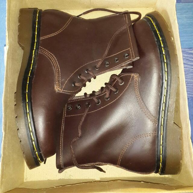 REPRICED!! Leather boots