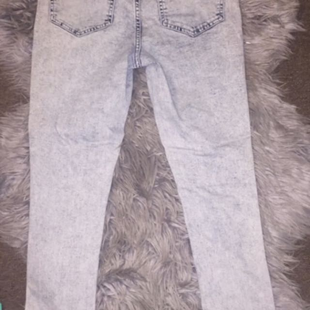 USED AND AVA & EVER JEANS