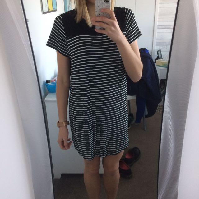 VallyGirl Stripy Dress Size S