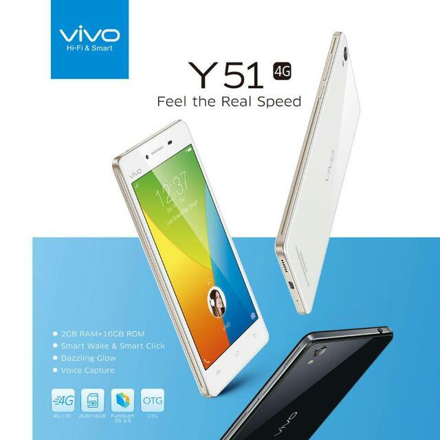 VIVO Y51!!! ALL NEW RUSH!!!!