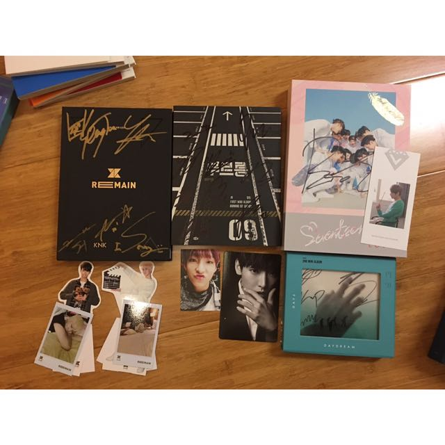 WTS SIGNED ALBUMS