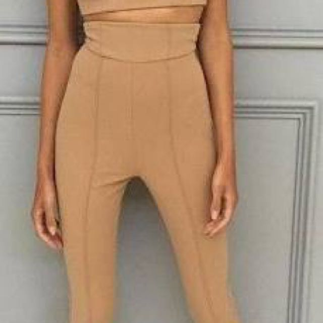 Zachary The Label Cigarette Pants In Camel