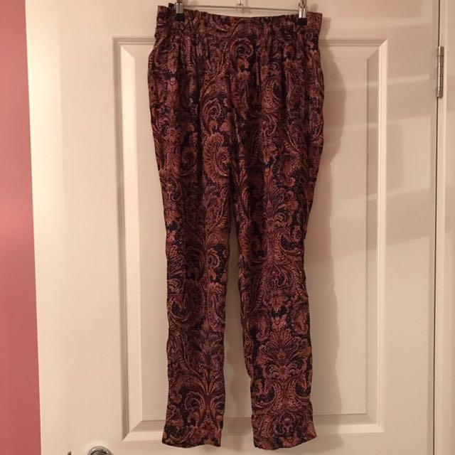 Zara Silk Pants