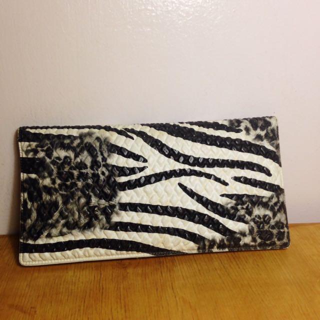 Zebra Print Wallet