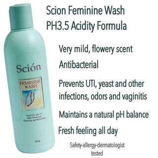 SCION FEMININE WASH PH 3.5